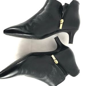 ROCKPORT TOTAL MOTION leather Kalila bootie zip 7